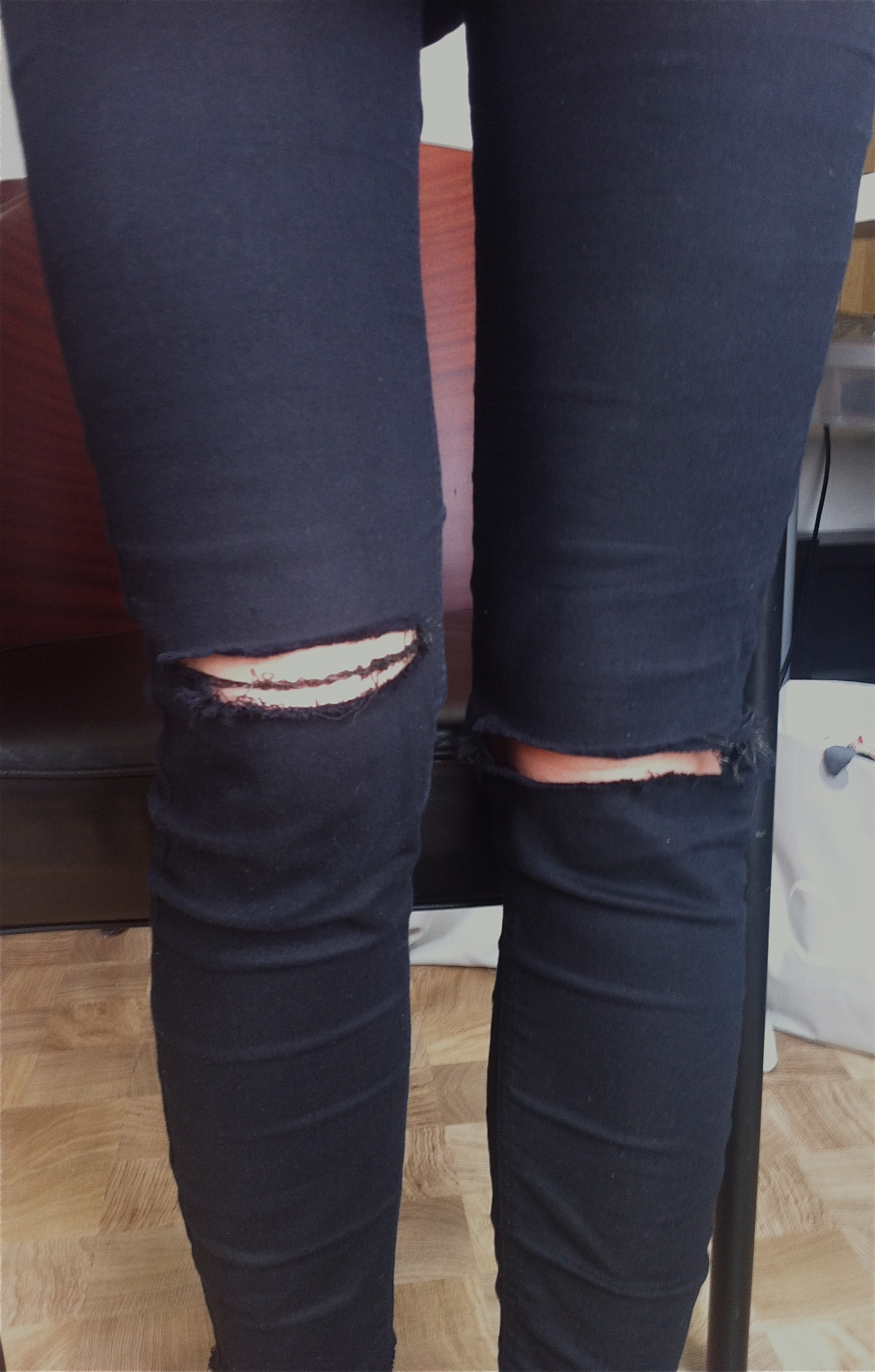 How To Cut Your Jeans Into Ripped Jeans